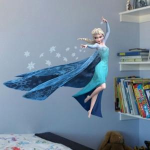 """Velika stenska nalepka """"Frozen – Ledeno kraljestvo – kraljična Elsa"""""""