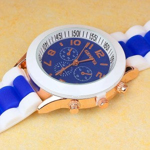 Univerzalna ročna ura Geneva modra