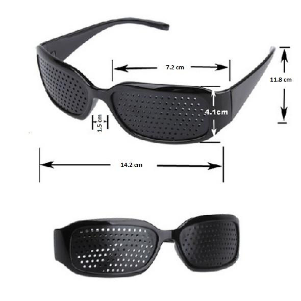 Raster očala z luknjicami