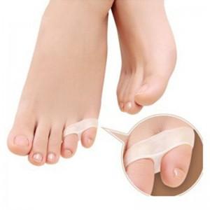 Silikonska opornica za ukrivljene mezince na nogah