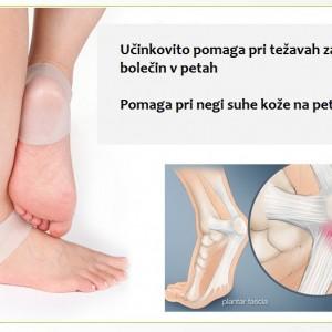 Silikonska nogavica za pete