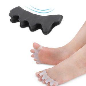 Silikonski korektor za ukrivljene prste na nogah